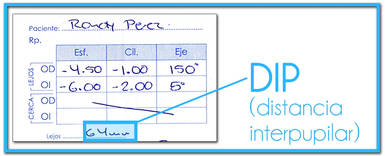 receta-de-medida-de-vista-dip-distancia-interpupilar